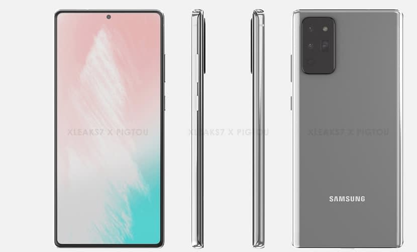 Samsung Galaxy Note 20 5G renders leaked its all design – Everything know so far