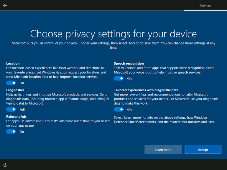 Window 10 Anti Privacy Guide: Setup everyone to use