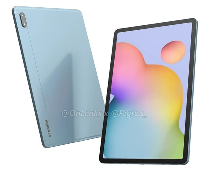 Samsung Galaxy Tab S7+ is released with Snapdragon 865, 120HZ screen