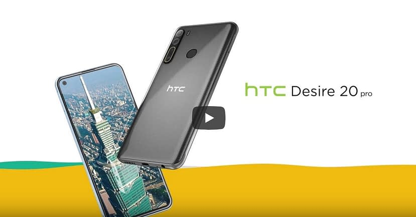 HTC Desire 20, Desire 20 Pro 5G Launched in Taiwan, More market launch Soon