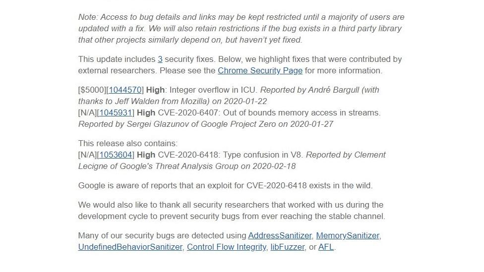 zero-day-vulnerability-CVE-2020-6418-fix