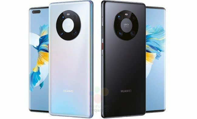 Huawei Mate 40 Pro key specs 50MP Leica triple camera, press renders exposed