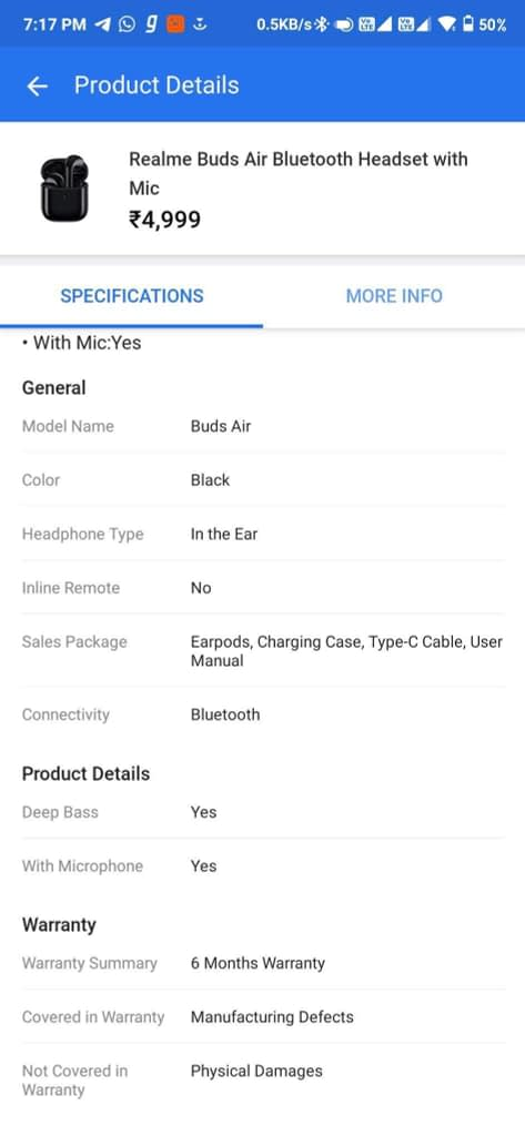 Realme-Air-Buds-Flipkart