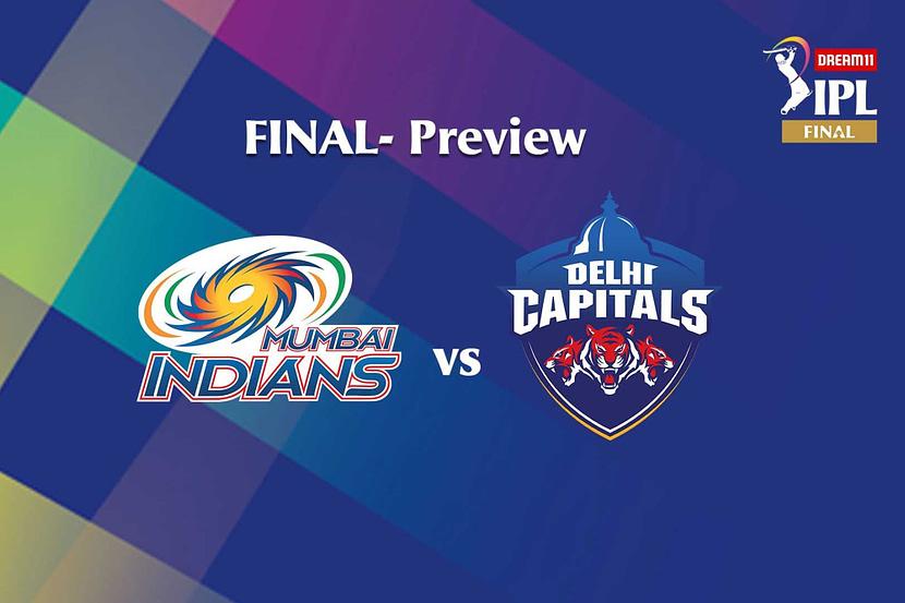 Dream 11 IPL 2020 Finals: Mumbai Indians vs Delhi Capitals