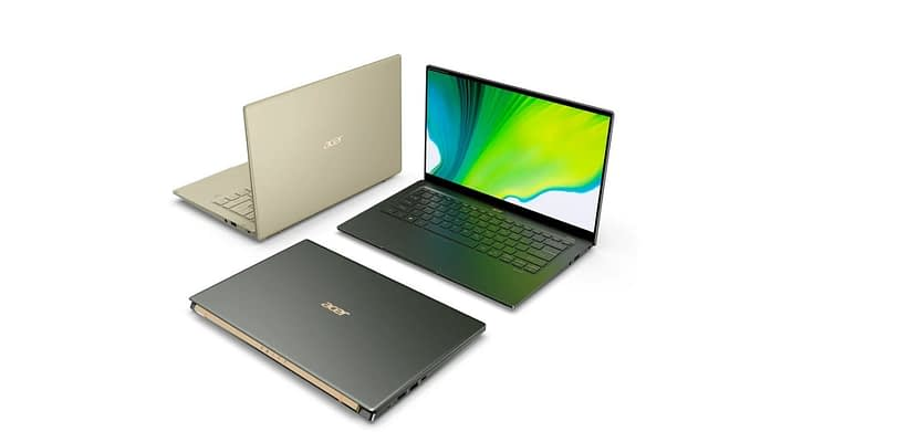 Acer Swift Notebook with Intel Core i7-1165GY7 Geekbench Score