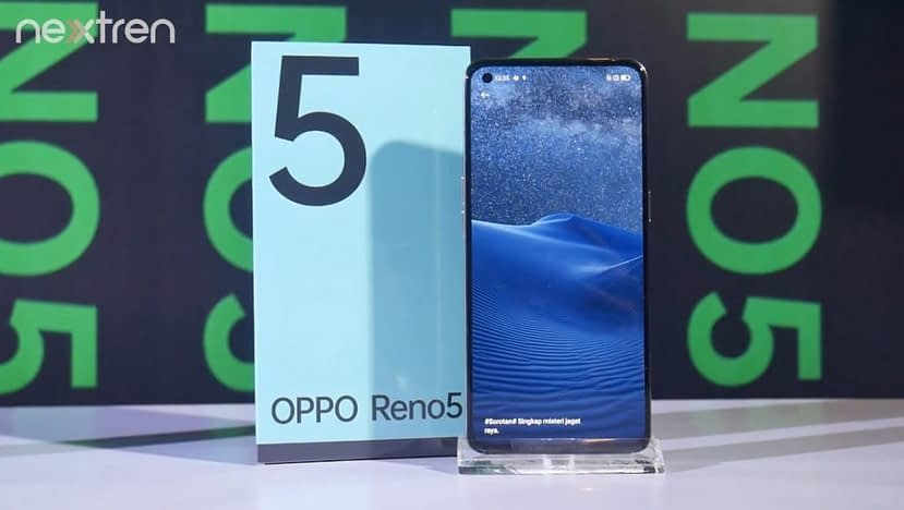OPPO Reno 5 4G with 6.4-inch FHD+ AMOLED 90HZ display equipped Snapdragon 720G