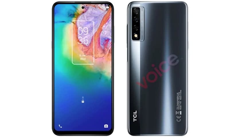 TCL 20 5G renders and Specifications leaked by Evan Blass