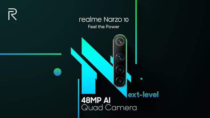 Realme Narzo 20, Narzo 20 Tipped to launch soon in India