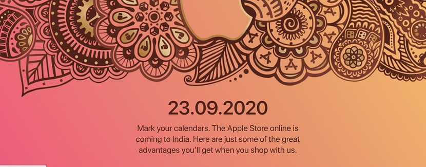Apple Store Online in India opening shortly at 23rd September
