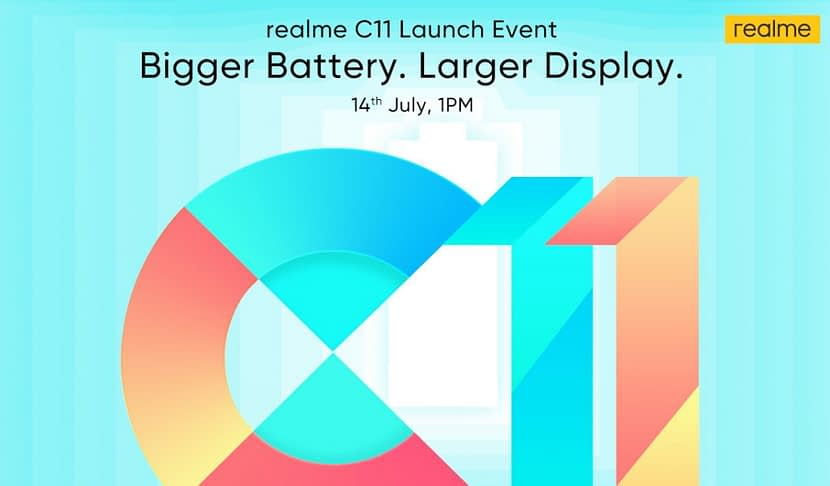 Realme C11 with 6.5-inch waterdrop display, Helio G35, 5000mah battery in India launch on July 14