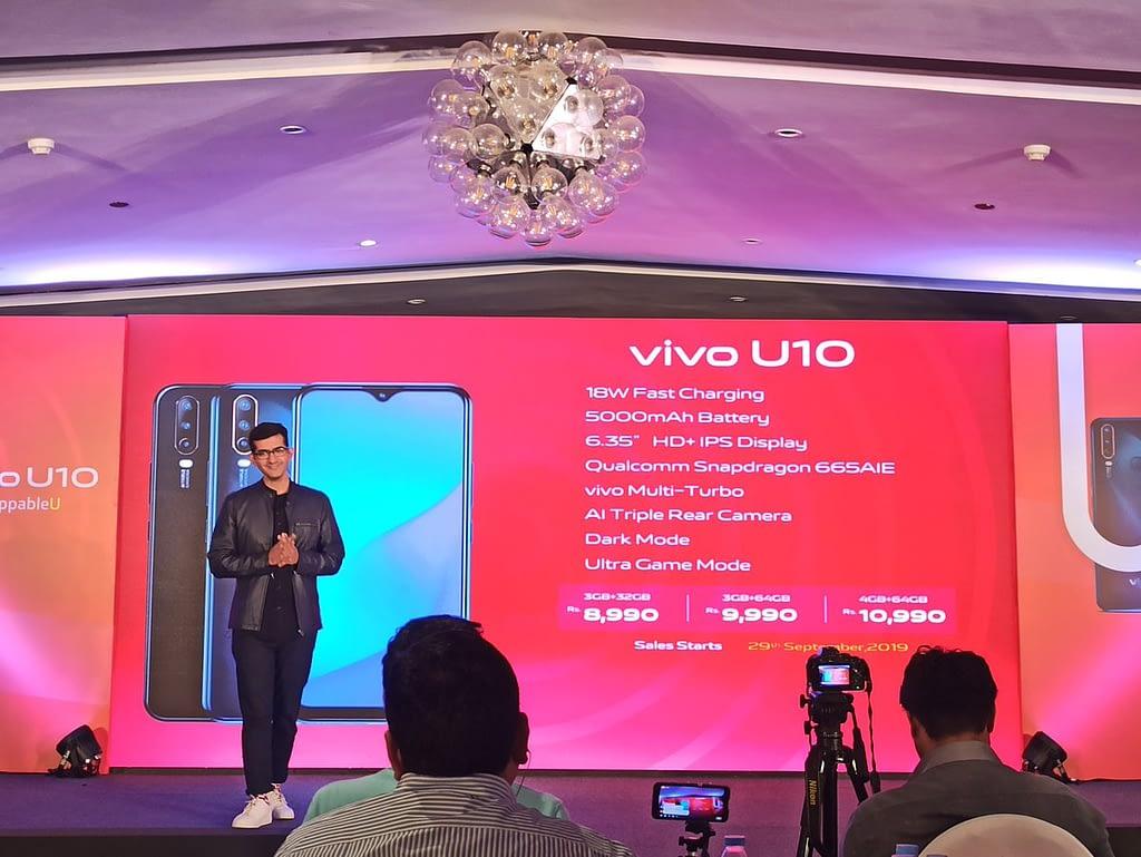 Vivo-U10-India