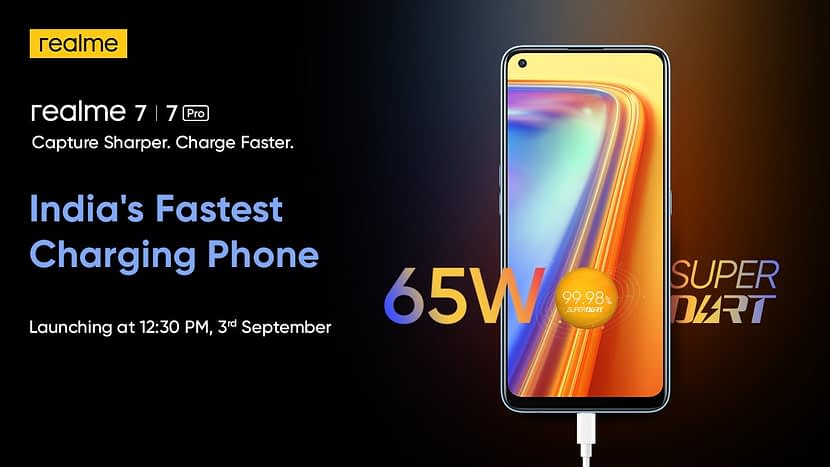 Realme 7, 7 Pro Series will officially debut on September 3rd in India
