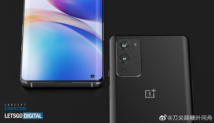 OnePlus 9 Pro early renders with curved screen and four rear cameras