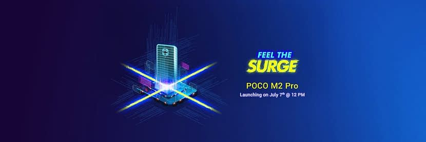 POCO M2 PRO will confirmed to launch on July 7 in India