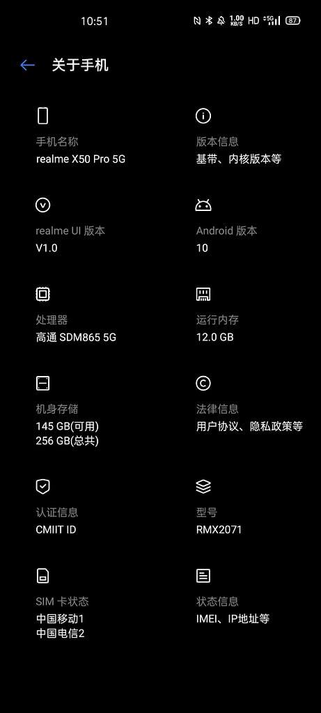 Realme-x50-pro-specification
