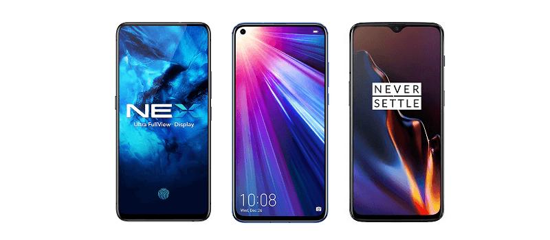 Best Upper Mid-Range Smartphones in 2019 to buy