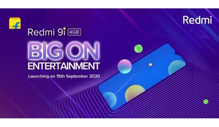 Xiaomi Redmi 9i to launch on September 15