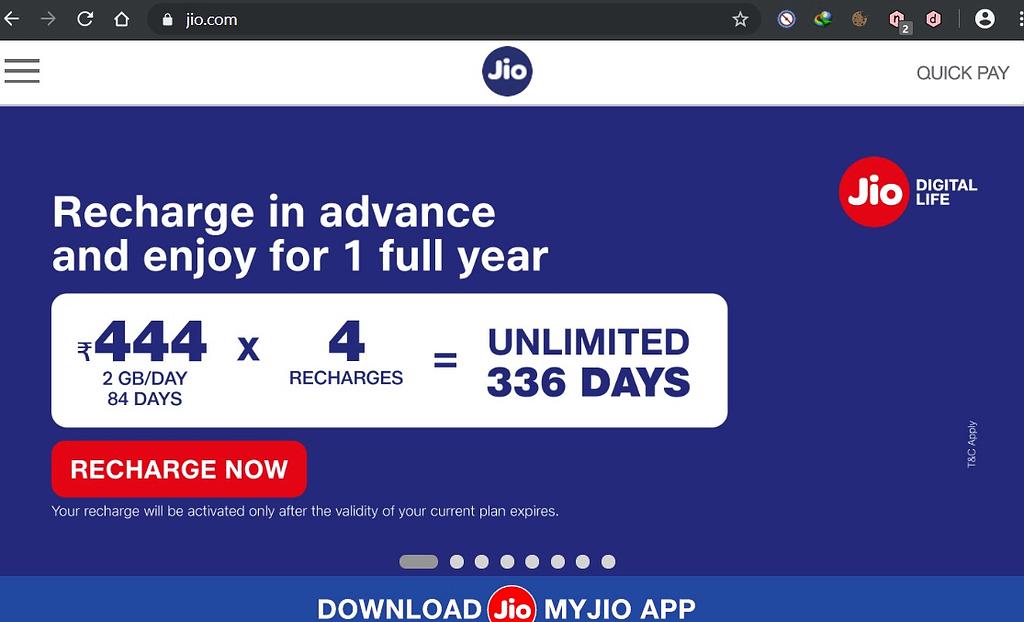 Jio-444-plans