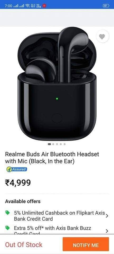 Realme Buds Air-Bluetooth-Headset