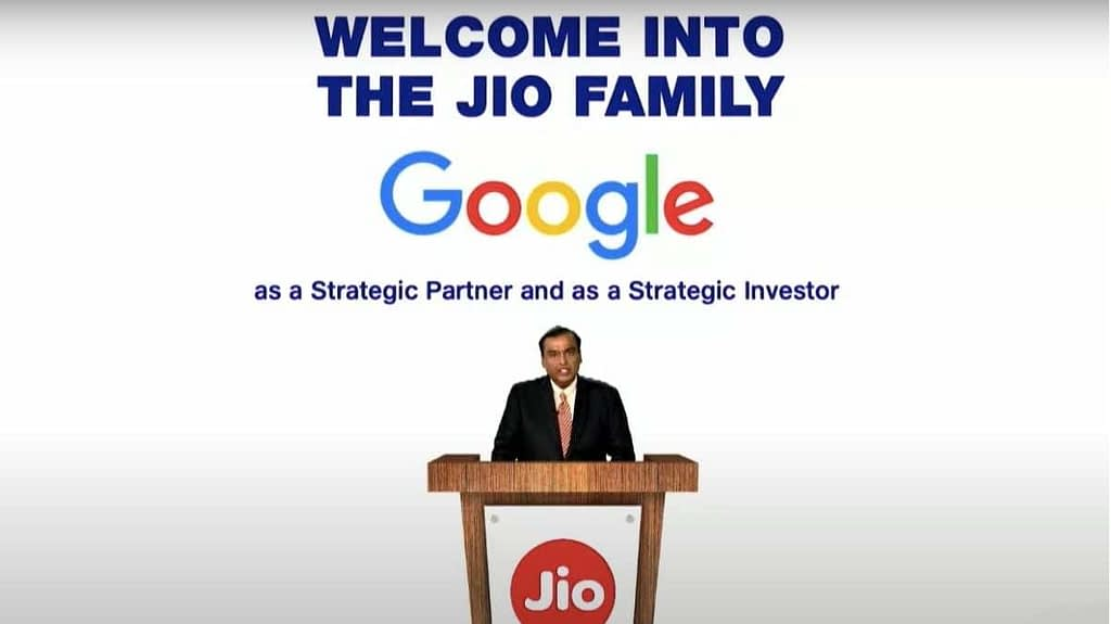 Source: Reliance Jio 43rd AGM