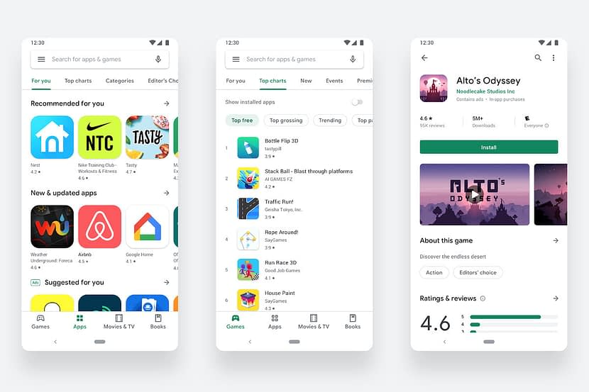 Google will change its app evaluation system without jump to the App Store