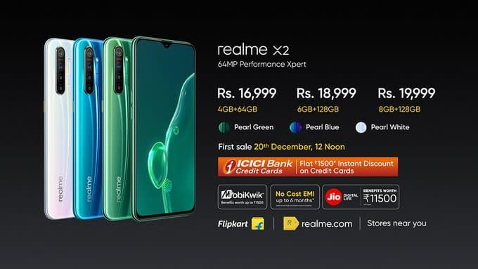 Realme X2 Snapdragon 730G, 64MP smartphone launched Price, Specs