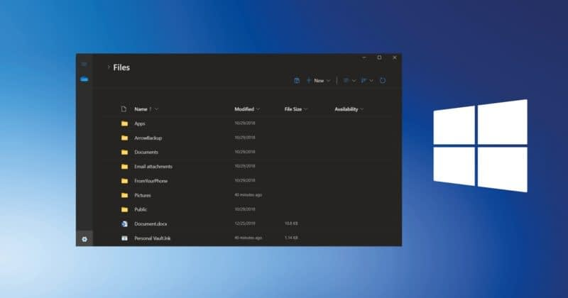Windows 10X supports Modern File Explorer Design