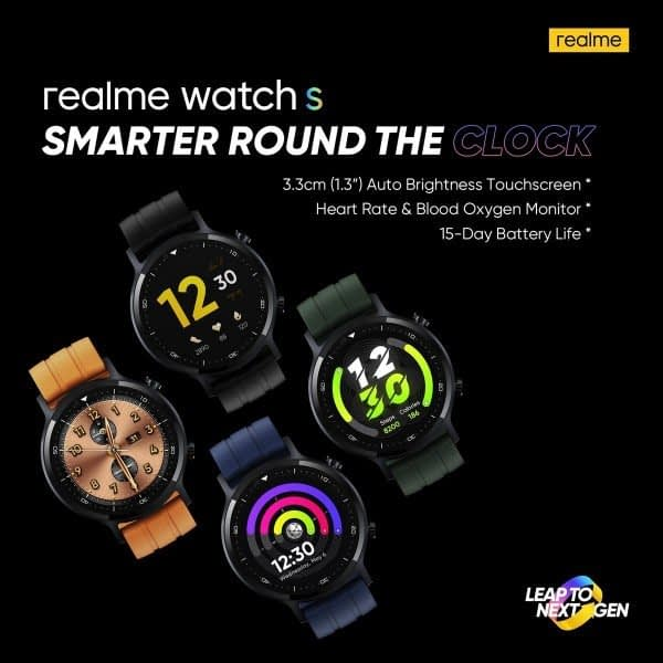 Realme Watch comes with a 1.3-inch touch screen, automated heart rate launched in Pakistan