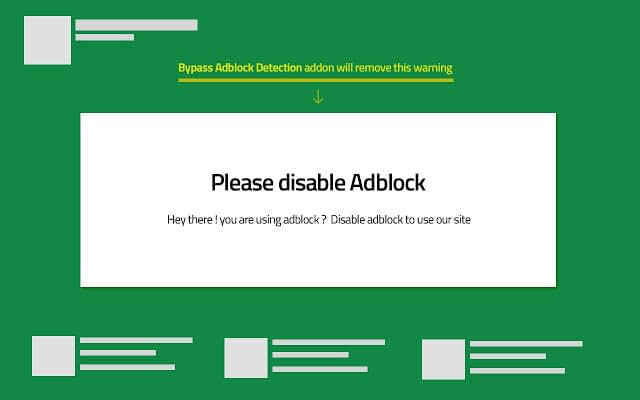 How to bypass your ad blocker warning in some website, Follow steps