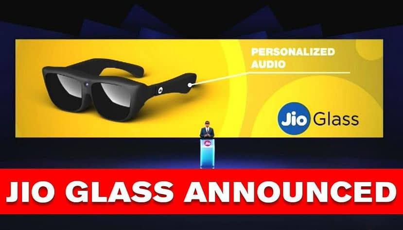 JioGlass, First Mixed Reality Glass enable audio and Holographic video calling