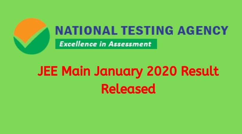 JEE Main Result 2020 Announced Today, Score of Toppers performing states