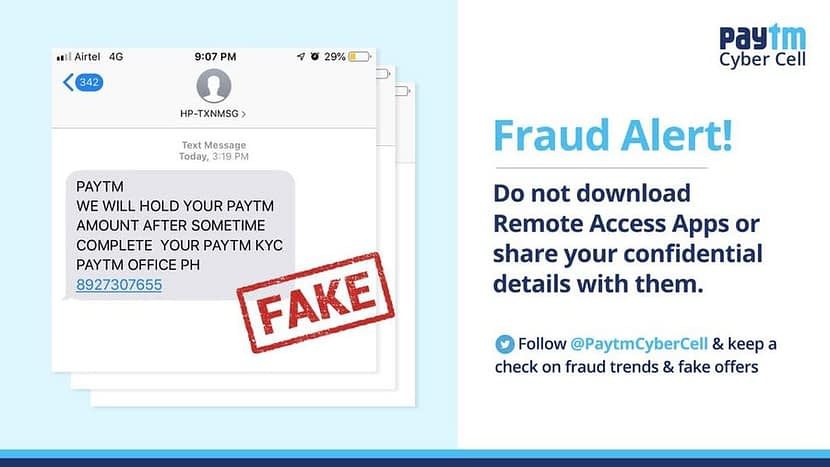 Fraudsters may steal your bank balance and wallet password from fake PayTM, Google Pay apps: Report