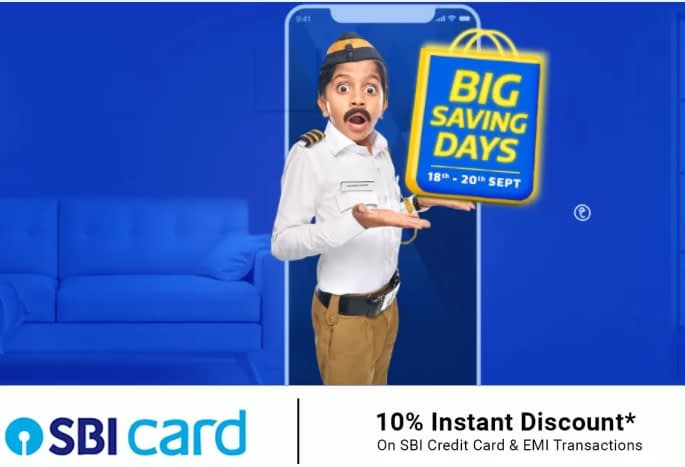 Flipkart Big Saving Days sale announced, starts September 18